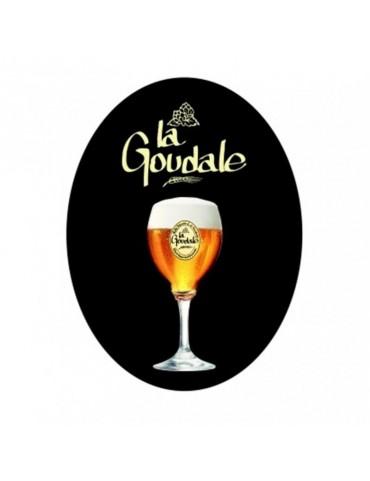 Plaque émaillée LA GOUDALE N°2 (verre...